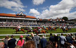 Amomentofmadness ridden by William Buick wins The Gateley PLC Handicap Stakes, during Ladies Day of the 2018 Boodles May Festival at Chester Racecourse. PRESS ASSOCIATION Photo. Picture date: Thursday May 10, 2018. See PA story RACING Chester. Photo credit should read: Martin Rickett/PA Wire