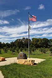 01 September 2014: Middle East Conflict Tree Memorial in Marseilles Illinois.  A small community along the Illinois River and a historical town along the historical Illinois Michigan canal.  The small town also hosts the Marseilles Lock operated by the Army Corp of Engineers. This image was created in part using HDR (High Dynamic Range) or Panoramic Stitching processes. If used editorially, it must be noted as such.