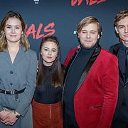 NLD/Utrecht/20190114 - Premiere Vals, cast musical Schuld, Anne de Blok, Jamie Kaminga, Sjors Arts en Ridder van Kooten