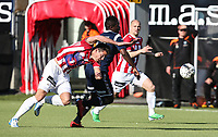 FotballFørstedivisjonTromsø IL vs Kristiansund29.05.2014Simen Wangberg, TromsøJean Mendy, KristiansundHans Eriksen Norbye, TromsøFoto: Tom Benjaminsen / Digitalsport