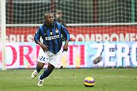 """Milano 3/2/2008 Stadio """"Giuseppe Meazza"""" <br /> Campionato Italiano Serie A<br /> Inter-Empoli (1-0)<br /> Foto PaperMg Insidefoto"""