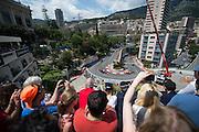 May 20-24, 2015: Monaco Grand Prix: Race action during the Monaco Grand Prix