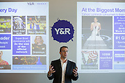 Executives of Young & Rubicam visit Yahoo! Inc. for a special event at Yahoo! Inc. in Sunnyvale, California, on September 25, 2013. (Stan Olszewski/SOSKIphoto)