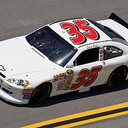 April 17, 2011; Talladega, AL, USA; NASCAR Sprint Cup Series driver Steve Park (35) during the Aarons 499 at Talladega Superspeedway.   Mandatory Credit: Derick E. Hingle