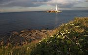 St Mary's lighthouse, Whitley Bay, Northumberland, England