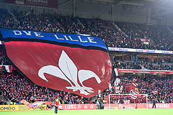September 30, 2018 - Lille, France - ILLUSTRATION - SUPPORTERS - TIFO (Credit Image: © Panoramic via ZUMA Press)