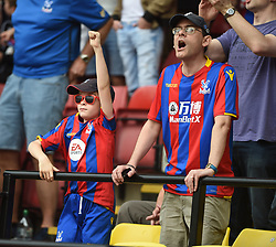 Crystal Palace fans prior to kick off