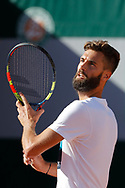 Benoit Paire (FRA) at practice on tennis court 4 during the Roland Garros French Tennis Open 2017, preview, on May ......, 2017, at the Roland Garros Stadium in Paris, France - Photo Stephane Allaman / ProSportsImages / DPPI