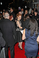 LONDON - FEBRUARY 13: Jessica Chastain attends the public relations disaster that was the outside arrivals at the ELLE Style Awards at the Savoy Hotel, London, UK on February 13, 2012. (Photo by Richard Goldschmidt)