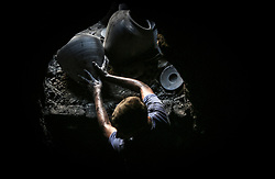 September 7, 2017 - Gaza - The oldest pottery work shop. Pottery is an ancient and traditional craft in Gaza. Local workshops typically produce such bowls, pitchers, flower pots, and vases, including a big black pottery vessel known as 'al-Qedra' that is used for cooking a traditional Gazan meal made out of rice, meat, garlic and onions. (Credit Image: © Nidal Alwaheidi/Pacific Press via ZUMA Wire)