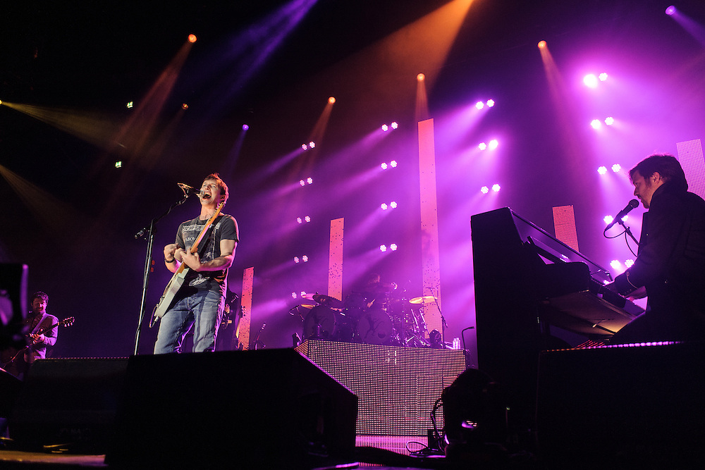 James Blunt performing at the Rockhal Luxembourg, Europe on October 25, 2011