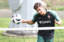 May 30, 2018 - Lisbon, Portugal - Portugal's forward Andre Silva in action during a training session at Cidade do Futebol (Football City) training camp in Oeiras, outskirts of Lisbon, on May 30, 2018, ahead of the FIFA World Cup Russia 2018 preparation matches against Belgium and Algeria...........during the Portuguese League football match Sporting CP vs Vitoria Guimaraes at Alvadade stadium in Lisbon on March 5, 2017. Photo: Pedro Fiuzaduring the Portugal Cup Final football match CD Aves vs Sporting CP at the Jamor stadium in Oeiras, outskirts of Lisbon, on May 20, 2015. (Credit Image: © Pedro Fiuza/NurPhoto via ZUMA Press)