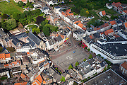 Nederland, Limburg, Gemeente Sittard-Geleen, 27-05-2013; centrum van Sittard met Markt en Sint Michaelskerk <br /> Town centre Sittard.<br /> luchtfoto (toeslag op standaardtarieven);<br /> aerial photo (additional fee required);<br /> copyright foto/photo Siebe Swart.