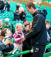24/05/15 SCOTTISH PREMIERSHIP<br /> CELTIC v INVERNESS CT<br /> CELTIC PARK - GLASGOW<br /> Celtic manager Ronny Deila meets fans after the match