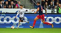 Football Playoff UEFA Europa League<br /> Rosenborg - Ajax<br /> Lerkendal Stadium, Trondheim, Norway<br /> 24 august 2017<br /> <br /> Mike Jensen, Rosenborg (V) og Mitchell Dijks, Ajax, i duell<br /> <br /> <br /> Foto : Arve Johnsen, Digitalsport