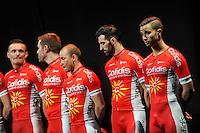 Equipe Cofidis - 23/01/2015 - presentation de l equipe Cofidis <br /> photos : Gautier Demouveaux / Icon Sport
