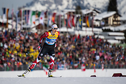 February 21, 2019 - Seefeld In Tirol, AUSTRIA - 190221 Dahria Beatty of Canada competes in women's cross-country skiing sprint qualification during the FIS Nordic World Ski Championships on February 21, 2019 in Seefeld in Tirol..Photo: Joel Marklund / BILDBYRN / kod JM / 87879 (Credit Image: © Joel Marklund/Bildbyran via ZUMA Press)