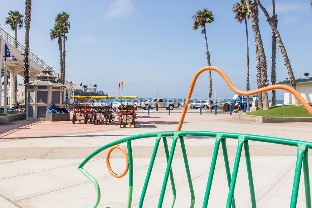Downtown Oceanside at the Pier