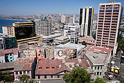 View over the city of Valparaíso, Chile