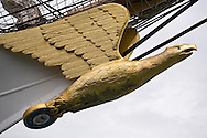 The figurehead of the U.S. Coast Guard Cutter Eagle is seen at the Tall Ships Festival in Tacoma, WA  Thursday, July 3, 2008. (Photo/John Froschauer)