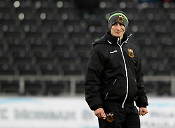 Northampton Saints' Interim Head Coach Alan Dickens <br /> <br /> Photographer Simon King/Replay Images<br /> <br /> EPCR Champions Cup Round 4 - Ospreys v Northampton Saints - Sunday 17th December 2017 - Parc y Scarlets - Llanelli<br /> <br /> World Copyright © 2017 Replay Images. All rights reserved. info@replayimages.co.uk - www.replayimages.co.uk
