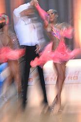 08.05.2010, Bremen Arena, Bremen, GER, Europameisterschaft, Lateinformation, Zwischenrunde, im Bild die Formation Klaipeda University Team Zuvedra II (LIT), Feature Taenzer verwischt EXPA Pictures © 2010, PhotoCredit: EXPA/ nph/  Witke / SPORTIDA PHOTO AGENCY