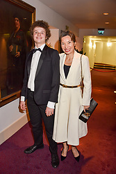 John Gallant and Natasha Tsukanova at the Russian Ballet Icons Gala, The London Coliseum, St.Martin's Lane, London,  England. 12 March 2017.