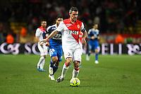 Jeremy TOULALAN - 01.02.2015 - Monaco / Lyon - 23eme journee de Ligue 1 -<br />Photo : Eric Gaillard / Icon Sport