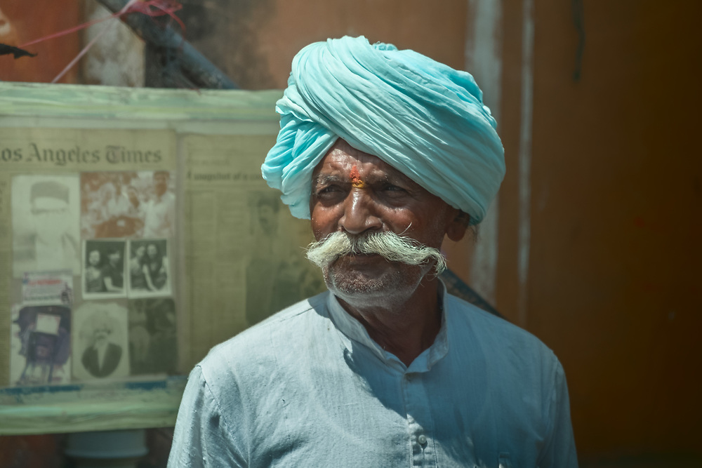 The Rajasthan region of northern India is the country's epicenter of the turban. There, a turban can tell a lot about a person — where he lives, who his family is, what he believes and what he does for a living.<br /> The most common turban colors worn by Sikhs are blue, orange, white and black.