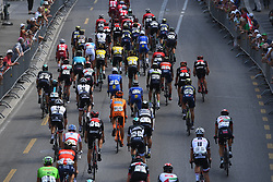June 17, 2017 - Schaffhausen, Suisse - SCHAFFHAUSSEN, SWISS - JUNE 17 : Illustration picture of the peloton during stage 8 of the Tour de Suisse cycling race, a stage of 100 kms between Schaffhaussen and Schaffhaussen on June 17, 2017 in Schaffhaussen, Swiss, 17/06/2017 (Credit Image: © Panoramic via ZUMA Press)