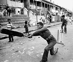 Dist 6 cricket.jpg<br /> An impromptu game of street cricket in District Six in 1968. Picture: Jim McLagan