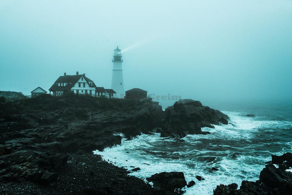Portland Head Lighthouse, Maine, USA,