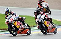 Motor / Motrosykkel<br /> 24.10.2008<br /> Foto: Gepa/Digitalsport<br /> NORWAY ONLY<br /> <br /> Huntley Nash (USA, li.) vor Sturla Fagerhaug (Norwegen / beide KTM)