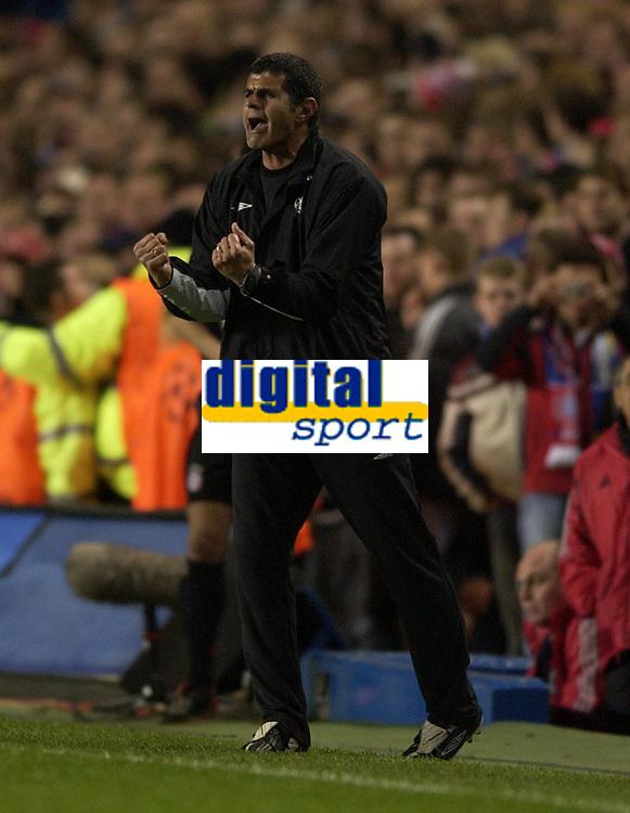 Fotball<br /> Champions League 2004/05<br /> Chelsea v Bayern München<br /> 6. april 2005<br /> Foto: Digitalsport<br /> NORWAY ONLY<br /> Baltemar Brito celebrates Frank Lampard's second goal