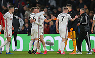 Sheffield United's Oliver Norwood and Oliver McBurnie celebrate after the Premier League match at Selhurst Park, London. Picture date: 1st February 2020. Picture credit should read: Paul Terry/Sportimage