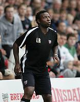 Photo: Lee Earle.<br /> Brentford v Bradford City. Coca Cola League 1. 02/09/2006. Brentford manager Leroy Rosenior.