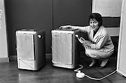 08/02/1963<br /> 02/08/1963<br /> 08 February 1963<br /> New Catalor heaters at W. & L. Crowe, East Wall Road, Dublin. Gas heaters.