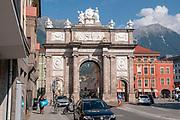 Triumphal Arch, Innsbruck, Tyrol, Austria