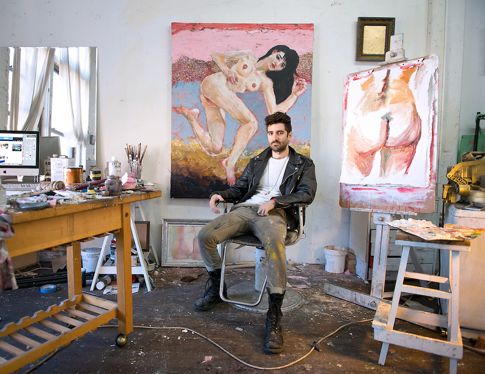 David Aronson Portraits of Artists and Performers in Metro New York Area