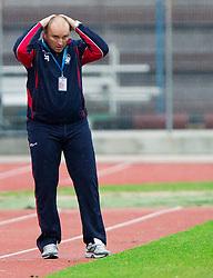 Sinisa Brkic, head coach of Triglav during football match between ND Gorica and NK Triglav in 16th Round of PrvaLiga NZS 2012/13 on November 3, 2012 in Nova Gorica, Slovenia. (Photo By Vid Ponikvar / Sportida)