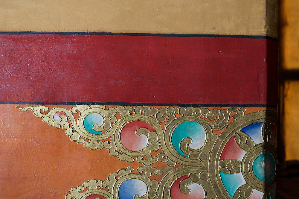 Monastery Detail, Thiksey Monastery, Ladakh