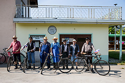 Members of Kolesarski Klub Zalec during 3rd Stage of 26th Tour of Slovenia 2019 cycling race between Zalec and Idrija (169,8 km), on June 21, 2019 in Slovenia. Photo by Matic Klansek Velej / Sportida