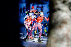 Anton Shipulin (RUS) competes during Men 12,5 km Pursuit at day 3 of IBU Biathlon World Cup 2015/16 Pokljuka, on December 19, 2015 in Rudno polje, Pokljuka, Slovenia. Photo by Ziga Zupan / Sportida