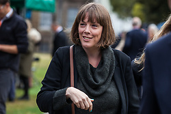 """London, UK. 25 September, 2019. Jess Phillips, Labour MP for Birmingham Yardley, is interviewed on College Green on the day after the Supreme Court ruled that the Prime Minister's decision to suspend parliament was """"unlawful, void and of no effect"""". Credit: Mark Kerrison/Alamy Live News"""