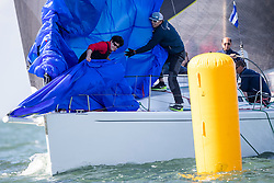 Nice sailing conditions on the second day of the North Sea Regatta, Scheveningen, Sunday the 9th of June 2019.