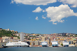 Cruise ships, Naples Harbor, Naples Italy