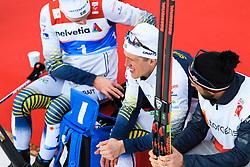 February 21, 2019 - Seefeld In Tirol, AUSTRIA - 190221 Calle Halfvarsson of Sweden looks dejected after competing in men's cross-country skiing sprint quarter final during the FIS Nordic World Ski Championships on February 21, 2019 in Seefeld in Tirol..Photo: Joel Marklund / BILDBYRN / kod JM / 87880 (Credit Image: © Joel Marklund/Bildbyran via ZUMA Press)