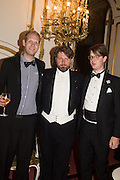 PRINCE NIKITA ROMANOV; ALEXANDER SUSENKO; PRINCE ROSTISLAV ROMANOV The 20th Russian Summer Ball, Lancaster House, Proceeds from the event will benefit The Romanov Fund for RussiaLondon. 20 June 2015