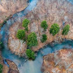 East Branch Clarion River, Johnsonburg, PA. SPring.
