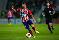 October 25, 2017 - Elche, Elche, Spain - Vietto of Atletico de Madrid with the ball during the Spanish Copa del Rey (King's Cup) round of 32 first leg football match between.Elche CF and Atletico de Madrid at the Martinez Valero stadium in Elche (Credit Image: © Sergio Lopez/Pacific Press via ZUMA Wire)